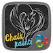 Chalk Painting Go Launcher Theme