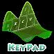 Nature Closeup Keypad Layout by Omega Themes