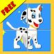 Paw Puppy Puzzle Kids Patrol by KalukuStudio