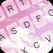 Pink Clouds Keyboard Theme by KeyboardThemez