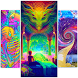 Acidmath Psychedelic Art Wallpapers by INK88