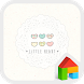 little heart 도돌런처 테마 by iconnect for Phone themeshop