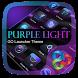 Purple Light GO Launcher Theme by Freedom Design