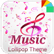 Music XperiaN Lollipop Theme by MobileTinker