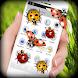 Ladybug on Screen Funny Joke by Prank Media Apps