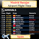 Madrid Barajas Airport Flight Time