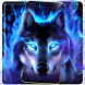Fearless Howling Cruel Wolf Theme by Android Themes by PIXI