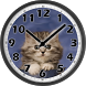 Sweet Cat Clock by Alfasoft