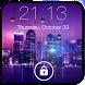 Rainy Lock Screen by Iphone Lock Studio