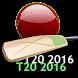 20-20 WorldCup Schedule 2016 by The Code Studio