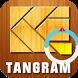 Tangram Rectangle by TSJ Studio