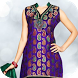 Women Salwar Suit Photo Editor by zizahapps