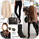 Women's clothing styles (autumn-winter) by Serena inc