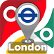 London Tube & Rail Map by Transgo