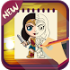 Draw Wonder Woman 2017 Guide by iDev-New : Drawing Apps