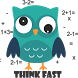 Owl Think Fast by Alien Apps 42