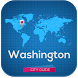 Washington Guide Map & Hotels by Free Travel & Tourist Guides