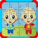 Puzzle Jigsaw Kids Twin by Tac Tic Tuc Studio
