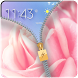 Pink Rose Zipper Lock Screen 2018 by FunnyGalaxy-BestAppsGames Corp
