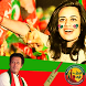 PTI Flag Sticker Face Changer Editor 2018