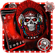 Red Bloody Skull Launcher
