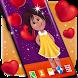 Girl in Love Live Wallpaper