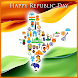 Republic Day Images Wishes by U Square Infotech