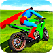 Ultimate Superhero Tricky Bike Stunts Racing Games by Games Track
