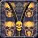Skullz Zipper Screen Lock by NSTech