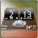MIUI Dark Digital Weather CL. by Factory Widgets