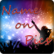 Name Art - Name on Pics by Fivex Solution