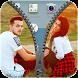 Couple Photo Zippe Lock Screen by Pozen Mobi Solution