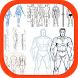 Learn to Draw Human Body by Amilova Apps