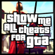 Show Me all Cheats For GTA by BadFrog Apps