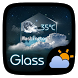 Glass GO Weather Widget Theme by GO Launcher EX