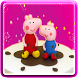Peppy pigs cake by MonApps59