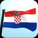 Croatia Flag 3D Free Wallpaper by I Like My Country - Flag