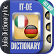 Italian German Dictionary by Julia Dictionary Inc