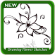 Drawing Flower Sketches Step by Step by Amalthea Studio