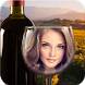 Bottle And Glass Photo Frames by APPDEVELOPER202