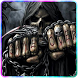 Game Over Skull zipper lock screen by FunnyGalaxy-BestAppsGames Corp