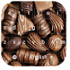 Chocolate Candy Keyboard Theme by beautifulwallpaper