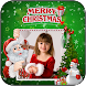 Christmas Photo Frame by Video Editor