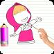 Draw Misha Easily by Zamel Apps