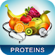 Protein in Foods by bitapp