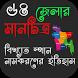 বাংলাদেশের ৬৪ জেলার মানচিত্র (Map of Bangladesh) by Truepenny