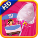 Baby Cotton Candy Maker Game by Crucial Kids