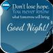 Ucapan Selamat Tidur Romantis by bimma