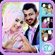Hijab Wedding Couple by diera