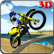 MotoCross Beach Bike Stunt 3D by Gravity Game Productions